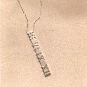 Tiffany and Co. Bar pendant